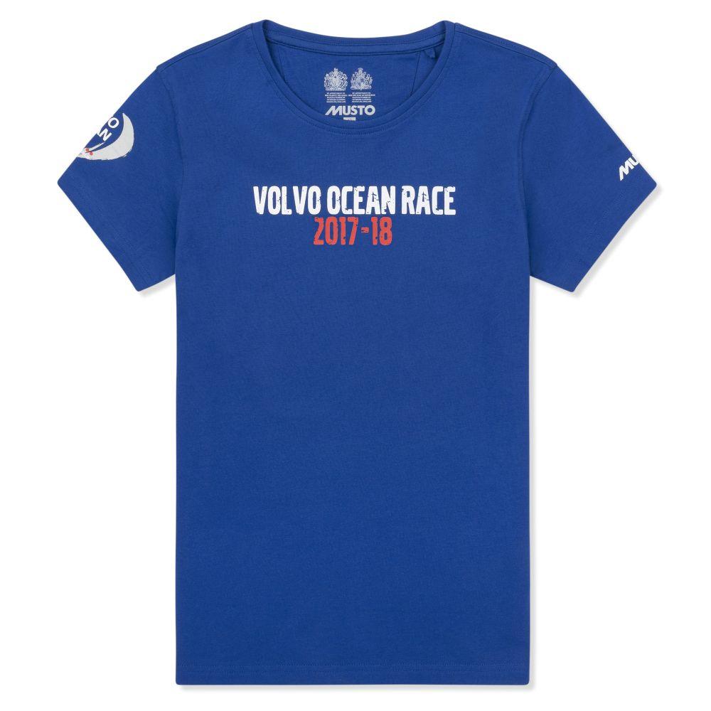 Musto V17LR0200 Women's Race T-Shirt Surf