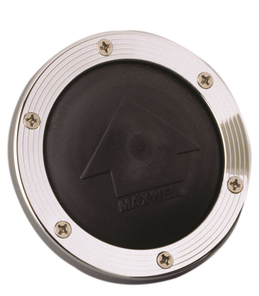 Vetus Maxwell Foot Switch, stainless steel cover