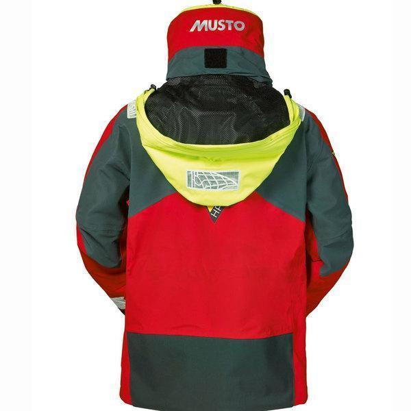 Musto SH1650 Musto Hpx Ocean Jacket Red/Dk Gr