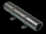 RVS Hengelhouder voor Zijmontage  L=260mm  max. Ø45mm