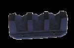 Kunststof Hengelopbergklem voor 3 Hengels  max. Ø38mm