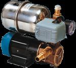 allpa Waterdruksysteem INOX 66B  24V / 185W  12l/min ( bij 0 7bar )  Slangaansluiting Ø20mm  330x200