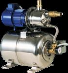 allpa Waterdruksysteem INOX 950  24V / 370W  52l/min ( bij 1 2bar )  Slangaansluiting Ø25mm  640x300