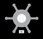 Johnson Pump Impeller 1026B-9