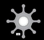 Johnson Pump Impeller 1028B-9