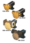 Johnson Pump zelfaanzuigende Bronzen Allround Impellerpomp F9B-3000TSS  389l/min  binnendraad 2 BSP