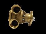 Johnson Pump zelfaanzuigende Bronzen Koelwater-Impellerpomp F7B-9 ( Vetus VF4 / VF5  FNM  VM4 / 6 ci
