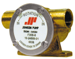 Johnson Pump zelfaanzuigende Bronzen Impellerpomp F35B-8  20 5l/min  binnendraad 3/8  109x80x30mm (