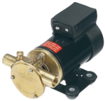 Johnson Pump zelfaanzuigende Olieverversingspomp F3B-19  24V  21l/min  Aansluiting 3/8 BSP  170x113x