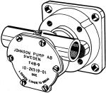 Johnson Pump zelfaanzuigende Bronzen Koelwater-Impellerpomp F4B-9 ( Mitsubishi K3D - K4D  Vetus STM8
