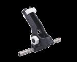 Kunststof Hengelhouder voor Railingmontage ( Ø25mm )  max. Ø42mm