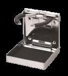 RVS Drankhouder met Veer-Grip  klapbaar  98 4x102mm