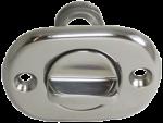 RVS Loosplug met inschroefbare RVS plug