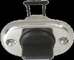 RVS Loosplug met inschroefbare Kunststof plug