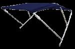 Aluminium Zonnetent model Wilma  Blauw  180x110x110cm