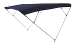 Aluminium Zonnetent model Wilma  Blauw  255x200x150cm