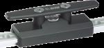 Antal Aluminium Verstellbare Klampen voor T-Track 40x8  Stop Pin Ø14mm  A=200mm  B=60mm  H=67mm  L=1