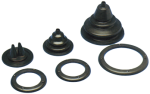 Kabeldoorvoer / Balg met losse Montagering  Gatmaat Ø71mm  Buitenmaat Ø105mm  H=70mm