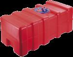 allpa Kunststof Inbouw Brandstoftank 53l  800x350x230mm ( lxbxh ) met Flensplaat