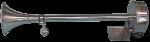 RVS Elektromagnetische Scheepshoorn  1-tonig  L=400mm  12V ( 115dB(A)-380Hz )