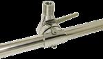allpa RVS Verstelbare Antennevoet voor Railingmontage ( Ø20-25mm )  A=116mm  B=49mm  C=25mm  D=87mm