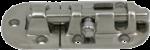 RVS Grendel  A=90mm  B=38mm  C=36mm  D=17mm