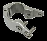 RVS Buiskap gedeeld Middenstuk  A=22 25mm  B=28 6mm  C=66 7mm