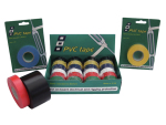 PVC TAPE ASSORTIMENT IN DISPLAYDOOS