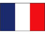 FRANSE VLAG 20X30