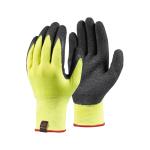 AUGL001 Dipped Grip Glove (Pack/3) Sul L