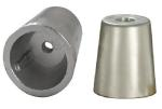 Zinc Radice conical prop nut (anode only) shaft Ø 22-25mm