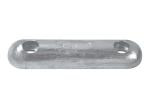 Zinc Bolt-on bar anode UK TYPE - Fairline 310x75x40 H.C. 205