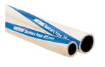 Sanitair slang 38x49mm wit, geurdicht per m