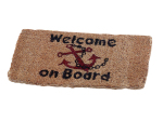 MAT WELCOME ON BOARD 25X5