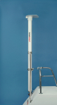 1.9m (6.4') complete pole system for Iridium Pilot Antenna