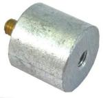 Zinc Galvion anodes pencil anodes Ø26,7 L.19