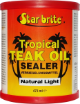 Tropical Teak Oil Sealer - Natural Light