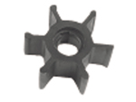 Neoprene inboard impeller key drive