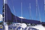Zeilhuik blauw dralon 2,50 mtr