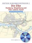 Die Elbe, Hamburg. Magdeburg, Elbe-Lubeck (DB2)